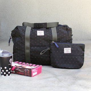 (Mercerized series) Fanny Travel Bag-Black_100420-00