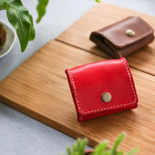 Shekinah Handmade Leather - Tofu Coin Purse