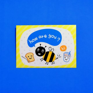 Mr. bees Hello? Postcards
