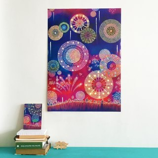 Rima Classic Picture Book Poster / Fireworks
