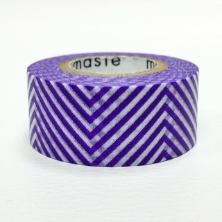Mastee and paper tape Basic overseas [curve-blue-violet (MST-MKT140-PL)]
