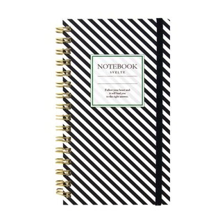 [Japanese] Svelte LABCLIP series Slim note notebook / Black