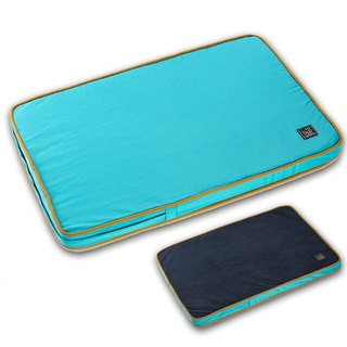 Lifeapp Dust-Free Pet Sleeping Pad M (Blue) W80 x D55 x H5 cm