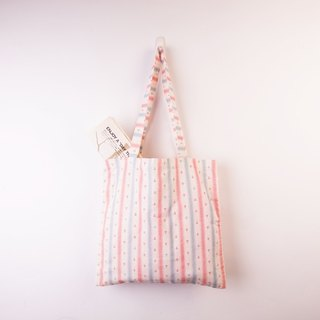 Have fun series_Double shoulder bag cotton cotton cloth bag (Marine)