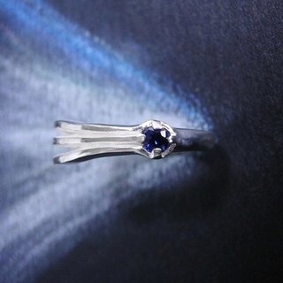 promise of 2061 sapphire ( comet star jewelry sterling silver ring 彗星 扫帚星 诺言 约 指杯 戒指 銀 蓝宝石 )