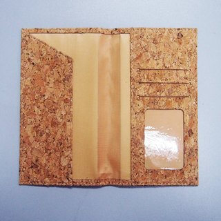 Cork Long Passport Holder Passport Case Passport Cover