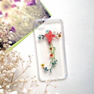 J for Jude:: initial pressed flower phonecase