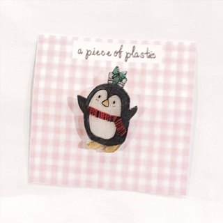Mr. Penguin Christmas - pin