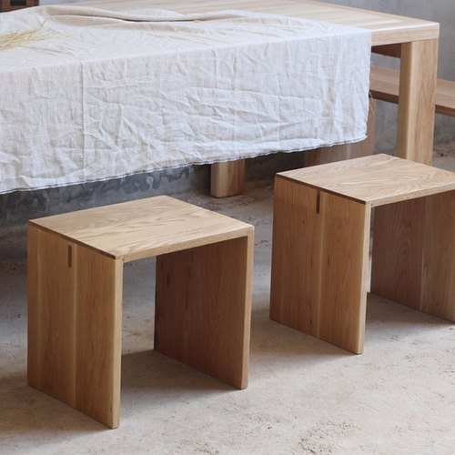 [Material]: Selection Of Imported Wood Cherry, Walnut [Product  Specification]: A Small Bench 40x33x40 (height) Cm, Benches 130x33x40 (H) Cm