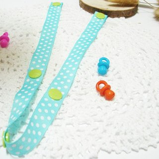 Cheerful. Strollers Toys anti-out rope lanyard, anti-out chain Sophie good partner (little light green)