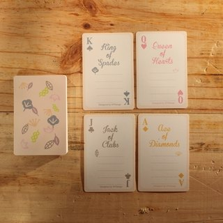 Colorful Forest | Poker Sticky Notes Card