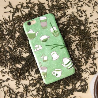 Green Tea iPhone case
