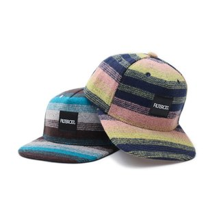 Filter017 Horizontal Stripe Wool Cap 毛料橫紋工作帽