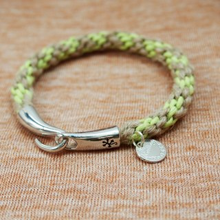 Just Knitting wax line hand-woven rope bracelets mix ● Made in Hong Kong