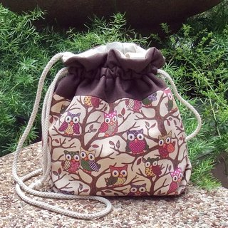 Silverbreeze ~ 3 in 1 hand bag / shoulder bag / cross body bag ~ Little owls