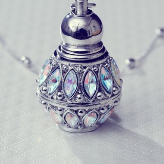 Neve Jewelry - Venus Mini Perfume Bottle of Necklace/Keychains