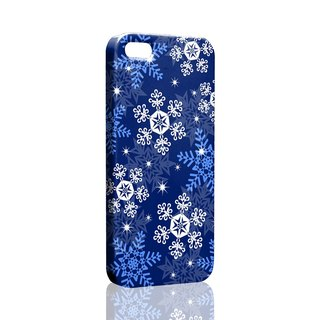 Winter Snowflake iPhone X 8 7 6s Plus 5s Samsung note S9 Mobile Shell