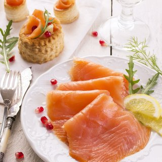Free Cooking - Patented Smoked Salmon 200g (Ice Instant)