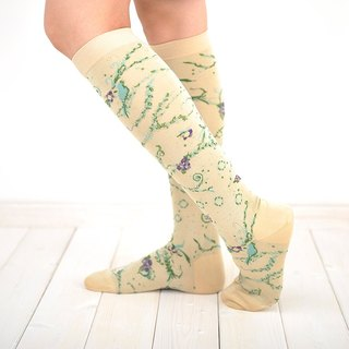 calm socks (socks of ivy and bird)
