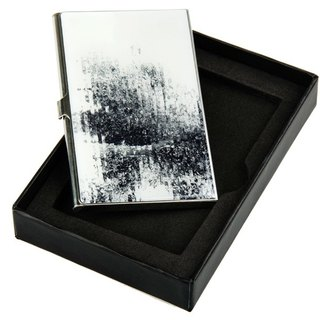 Interrupted recognition by Katsutoshi Yuasa card holder