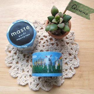 Maste Masking Tape and Paper Tape Multi [Farm (MST-MKT13-A)] Animals