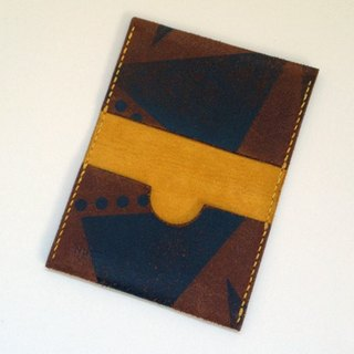 Business card card case (Maremma Toco leather)