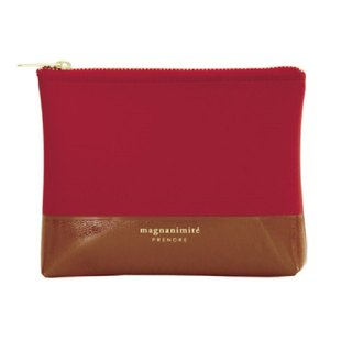 Japan【LABCLIP】Prendre Mini Pouch Storage Bag (Small-Zipper) Red