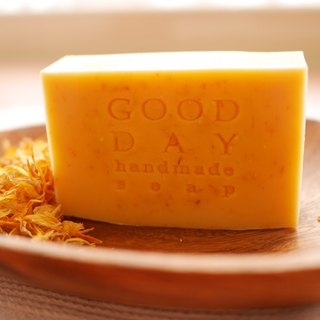 Soothing Soap Calendula (Pot Marigold Handmade Soap)