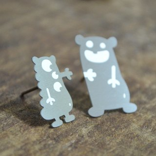 【Peej】'I Still Like You' Stainless Steel Earrings