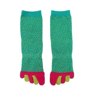 Taiwan's offshore islands of fruits and vegetables / green and yellow / warm socks if series