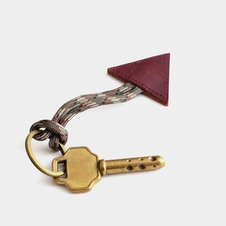 【PS】 Leather Key Ring Leather Key Charm Custom Lettering When gift graduation gift