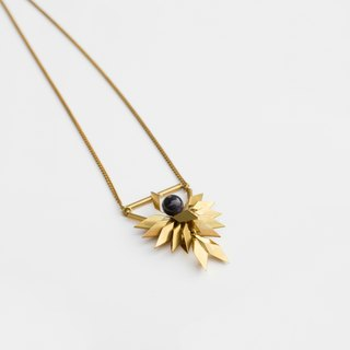 LOOPORIGINAL Phenix Necklace [Phoenix brass necklace]