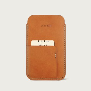 Pocket iPhone Case - Camel (Bare Metal)