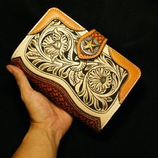 Leather A6 Tang grass carving Organizer / DAY PLANNER 2013
