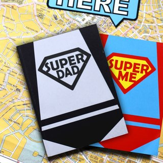 MUAH * Super Family fun games notebook (2 adults + villain into groups)