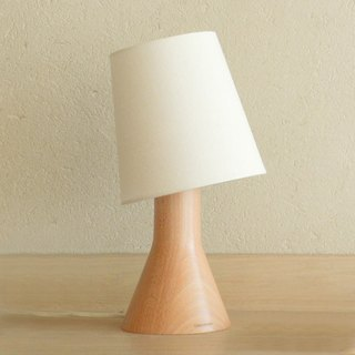 Beladesign. Large beaker solid wood lamp
