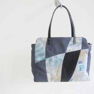 Mosaic art style / shoulder bag / briefcase