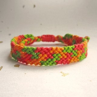 Jigsaw lucky rope woven bracelet (optional color)