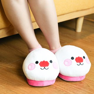 Happy Rabbit Feet Plush slippers