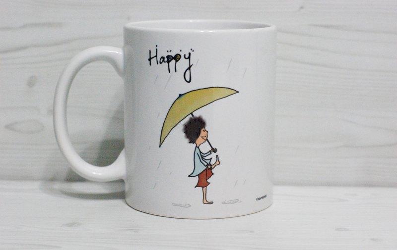 [馬克杯]Happy (客製)