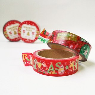 Japan amifa 2015 Xmas and paper tape 2 into group [Message - Red (33557)]