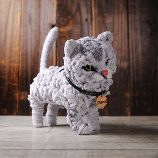 Pets avatar 14 ~ 16cm [feiwa Fei doll handmade doll] longhaired cat pets (welcome to build your cat)