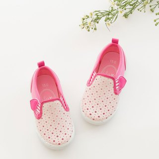 Chloe Strawberry Star Breathable Slip-On Casual Shoes