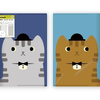 Hime's cats My Cat Book Cover Notebook - Gentleman Cat