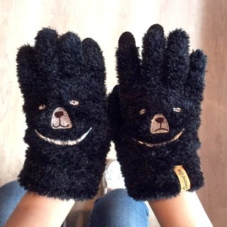 Love sleepy bear touch gloves