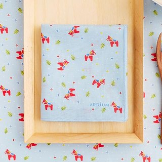 ARDIUM cotton handkerchief - Dala horse