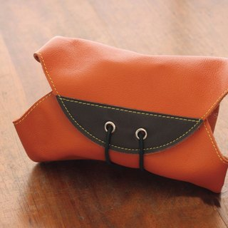 HIPSIONG leather camera lens cloth -Ray large (orange)