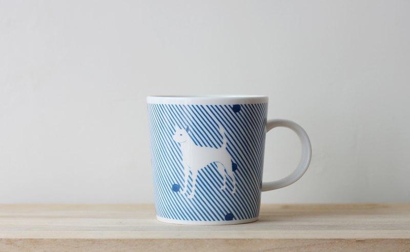 犬紋馬克杯
