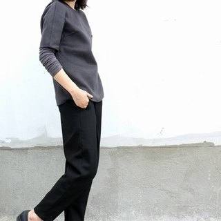 Gao fruit / GAOGUO original designer women's brand new winter big profile of the T-shirt type female wool coat
