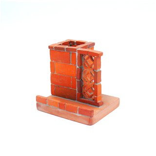 Three and tile kiln - red brick years window material group - Wenchuang, gifts, business card holder